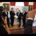 Předávání petice za dokončení D1 u Přerova představiteli SRDIM na půdě PSPČR jejímu předsedovi Radkovi Vondráčkovi
